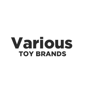 Various Toy Brands